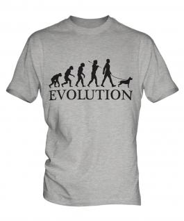 Staffordshire Terrier Evolution Mens T-Shirt