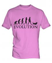 Basset Hound Evolution Mens T-Shirt