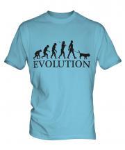 Beagle Evolution Mens T-Shirt