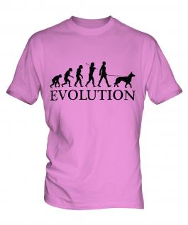 Belgian Malinois Evolution Mens T-Shirt