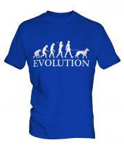 Belgian Malinois Evolution Mens T-Shirt