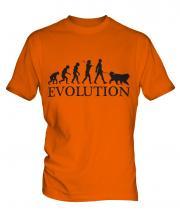 Bernese Mountain Dog Evolution Mens T-Shirt