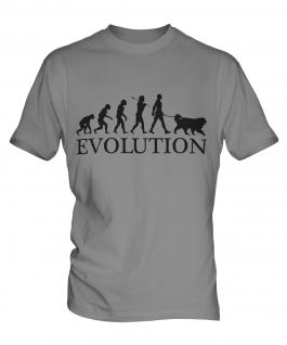 Bernese Mountain Dog Evolution Mens T-Shirt