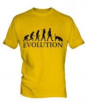 Coonhound Evolution Mens T-Shirt