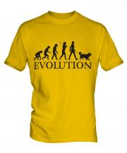 Border Collie Evolution Mens T-Shirt