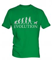 Border Terrier Evolution Mens T-Shirt