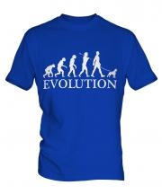 Boston Terrier Evolution Mens T-Shirt