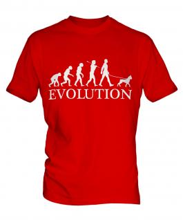 Boxer Dog Evolution Mens T-Shirt