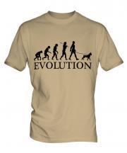 Boxer Dog Evolution Mens T-Shirt