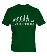 Welsh Corgi Evolution Mens T-Shirt