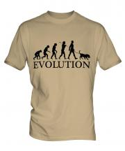 Chesapeake Bay Retriever Evolution Mens T-Shirt