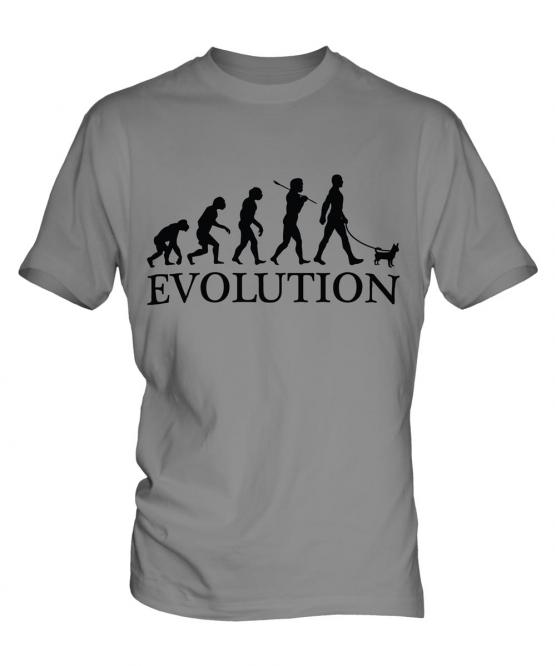 Chihuahua Evolution Mens T-Shirt