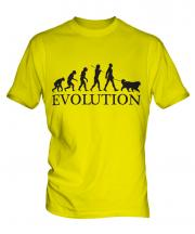 Clumber Spaniel Evolution Mens T-Shirt