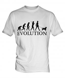 English Cocker Spaniel Evolution Mens T-Shirt