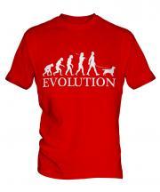 English Cocker Spaniel Evolution Mens T-Shirt