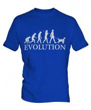 English Setter Evolution Mens T-Shirt