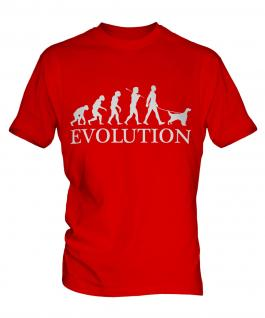 English Setter Evolution Mens T-Shirt