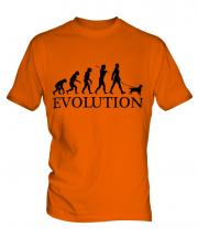English Toy Spaniel Evolution Mens T-Shirt