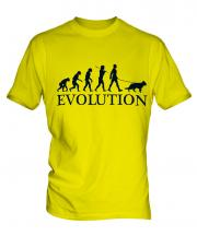 German Shepherd Evolution Mens T-Shirt