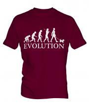 Glen Of Imaal Terrier Evolution Mens T-Shirt