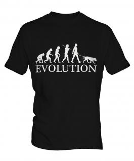 Golden Retriever Evolution Mens T-Shirt