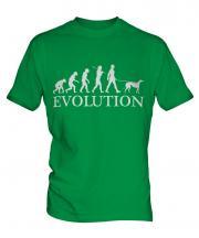 Greyhound Evolution Mens T-Shirt
