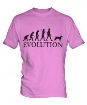 Irish Setter Evolution Mens T-Shirt