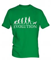 Irish Terrier Evolution Mens T-Shirt