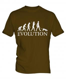 Jack Russell Terrier Evolution Mens T-Shirt