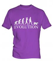 Kerry Blue Terrier Evolution Mens T-Shirt