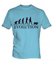 Kerry Blue Terrier Evolution Mens T-Shirt