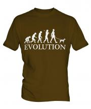 Manchester Terrier Evolution Mens T-Shirt