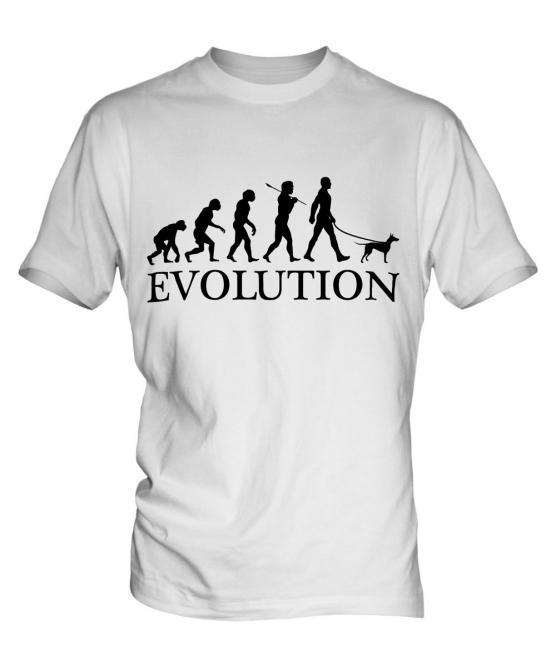 Manchester Terrier Evolution Mens T-Shirt