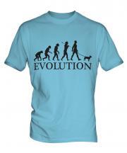 Miniature Bull Terrier Evolution Mens T-Shirt