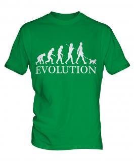 Miniature Poodle Evolution Mens T-Shirt