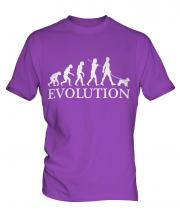 Miniature Schnauzer Evolution Mens T-Shirt