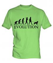 Neapolitan Mastiff Evolution Mens T-Shirt