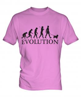 Norfolk Terrier Evolution Mens T-Shirt