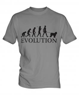 Old English Sheepdog Evolution Mens T-Shirt