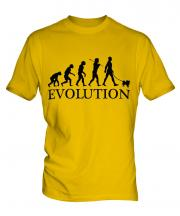 Papillon Evolution Mens T-Shirt