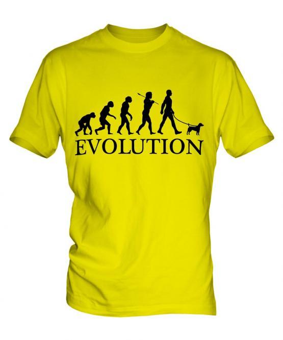 Parson Russell Terrier Evolution Mens T-Shirt