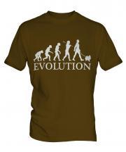 Pomeranian Evolution Mens T-Shirt