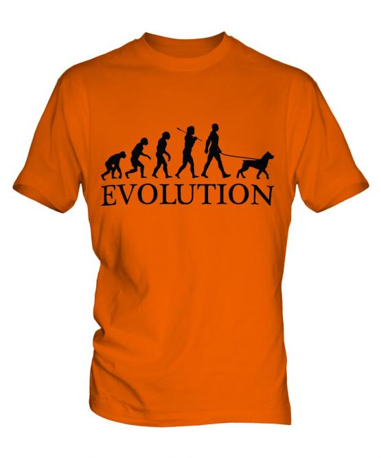 Rottweiler Evolution Mens T-Shirt