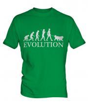 Saint Bernard Evolution Mens T-Shirt