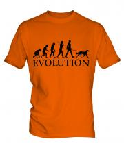 Saluki Evolution Mens T-Shirt