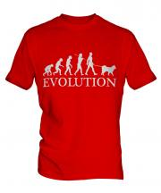 Samoyed Evolution Mens T-Shirt
