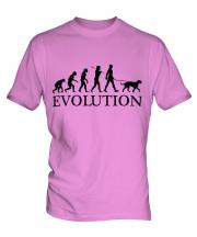 Scottish Deerhound Evolution Mens T-Shirt