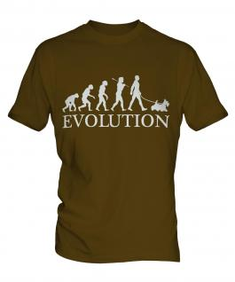 Scottish Terrier Evolution Mens T-Shirt