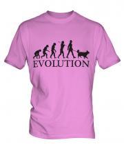 Shetland Sheepdog Evolution Mens T-Shirt