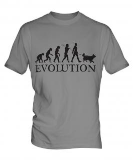 Shetland Sheepdog Evolution Mens T-Shirt